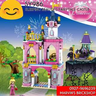 For Sale SY986 Sleeping Beauty's Fairytale Castle Building Blocks Toy