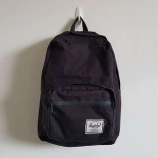 Herschel Black Backpack