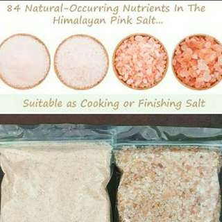 Himalayan Pink Crystal Cooking Salt