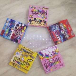 Goody bag - crayon 12 colours