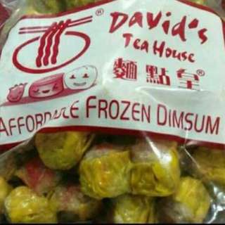 Davids Tea House Frozen Dimsum
