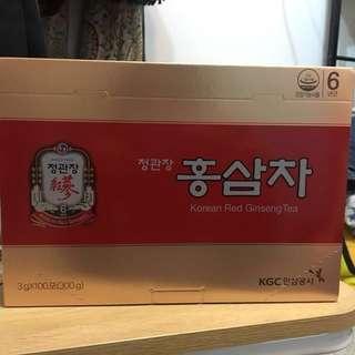 韓國正官庄紅蔘茶 (正版未開盒)