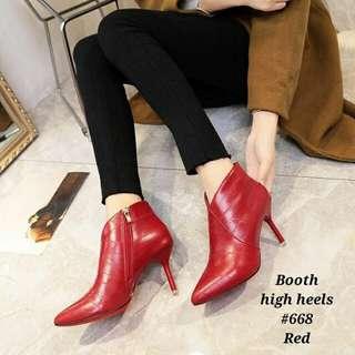 Booth high heels korea #668
