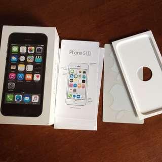 iphone 5/5s box
