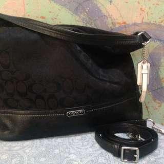 Coach Black Sling/Shoulder bag