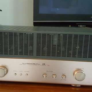 Luxman sq 38 tube amp