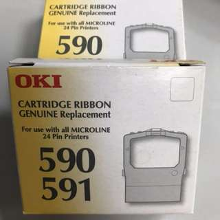 2 Oki 590/ 591 printer cartridges
