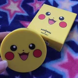 TONYMOLY Pikachu cushion blusher