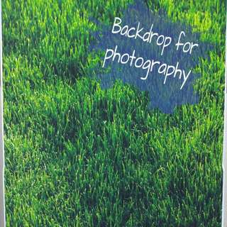 BC001- Grass Backdrop for photography, cake, parties, decor wall