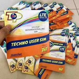 Techno retailer sim can load all networks
