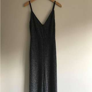 Sparkly Black Jumpsuit