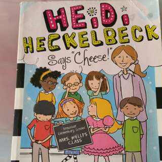Heidi Heckle beck says cheese