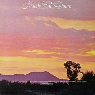 Music til dawn, Vinyl LP, used, 12-inch original USA pressing