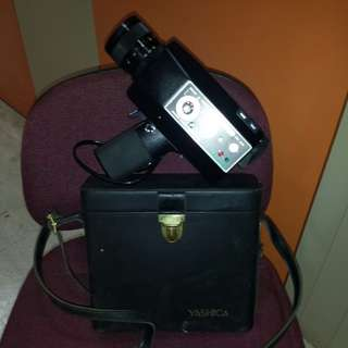 Vintage Yashica Handheld Video Camera