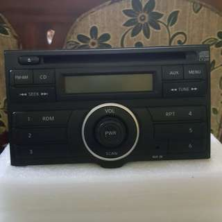 Origenal nissan livina car audio