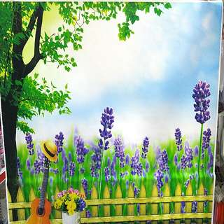 BC004- Lavender Backdrop for photography, cake parties party wall decor