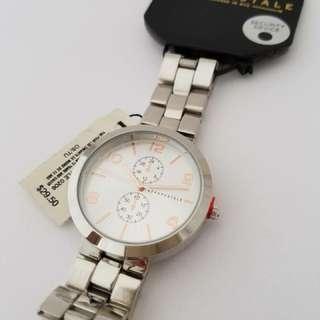 Aeropostale Silver Tone Metal Watch