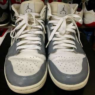 Nike Air Jordan 1 Custom WolfGrey US10.5