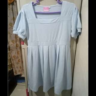 Blue Maternity blouse (Preloved)