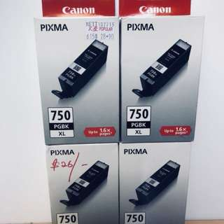 Canon Pixma Ink 750XL Black