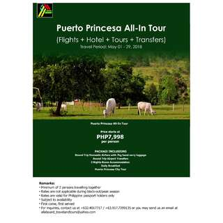 Puerto Princesa All-In Tour