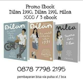 Promo novel ebook goceng! 5000 komplit