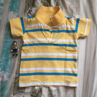 Justees polo shirt size 2t