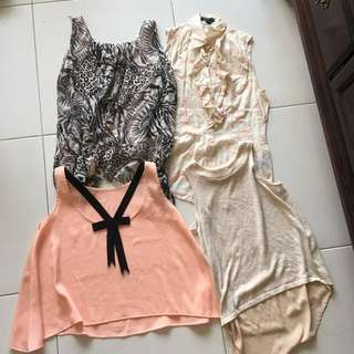 Woman's Tops - Assorted