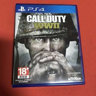 🚚 決戰時刻 cod PS4遊戲光碟