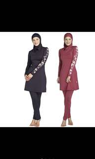 Muslimah Swimming Costume Set