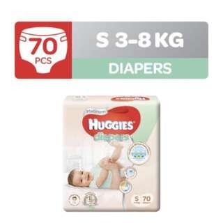 Huggies BN size S