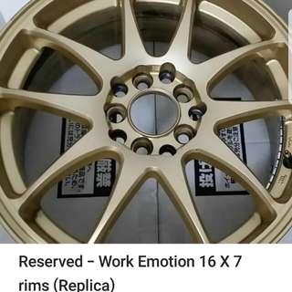 16 inch rim witj tyre