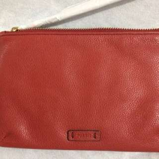 Fossil Wristlet Leather Keely