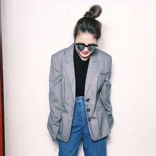全新設計師品牌復古版型oversize 西裝外套