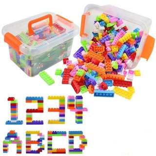 DIY Building Block Brick 250 pcs