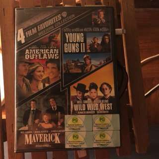 Hollywood Western Movies collection