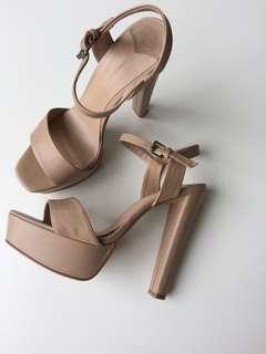 Tony bianco nude pump heels