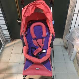 二手ZOOPER Twist 嬰兒推車(新生兒可用),含杯架、2組推車手把套、雨遮、全新防蚊罩、全新腳套。
