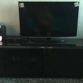 Tv and tv console