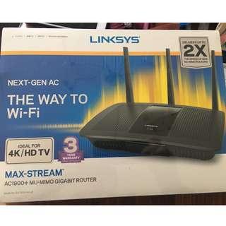 LINKSYS EA7500-AH v2 - Max-Stream AC1900 + MU-MIMO GIGABIT ROUTER