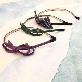 Various Ribbon Bow Headband