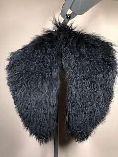 Aritzia A MOVEABLE FEAST real lamb fur scarf