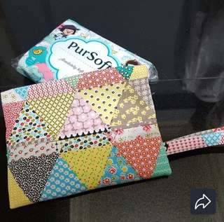 Travel Tissue Pouch with pocket