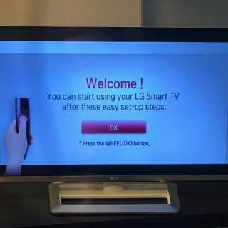 LG 47Inch Smart Tv model 47LM6690