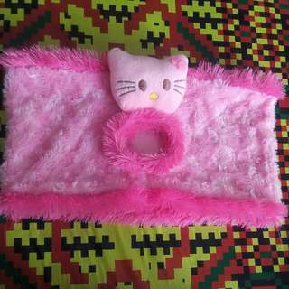 Sarung magic com Hello Kitty Bulu