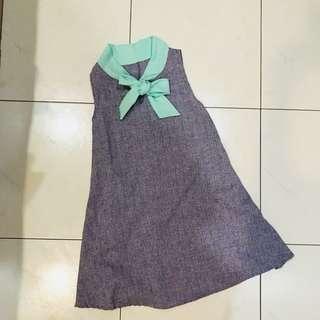Ribbon Loose Dress