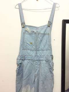 Overall Light Jeans