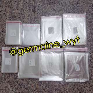 Self-seal Clear Plastic Packaging