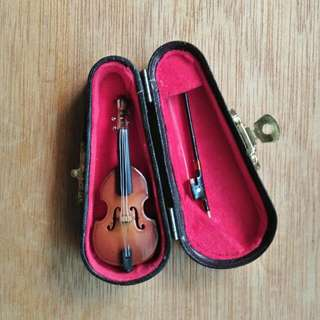 Miniature Violin Gift