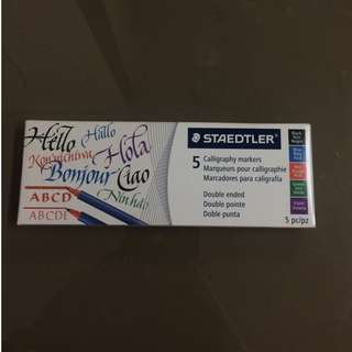 Staedler Caligraphy Markers